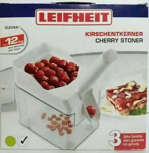 Leifheit Cherry Pitter with Stone Catcher Container Cherry Stone Remover R7 $35.00