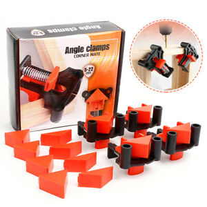 4PCS 90 Degree Right Angle Clamp Holder for Wood working Corner Clamp $25.99