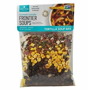 Frontier Soups Tortilla Soup Mix 4.5oz 2 Pack $13.99