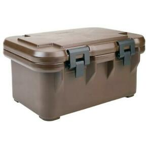 Cambro UPCS180131 Camcarrier Full Size 8 in Deep Brown Pan Carrier $151.95