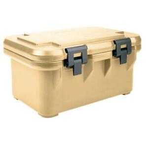 Cambro UPCS180157 Camcarrier Full Size 8 in Deep Beige Pan Carrier $151.95