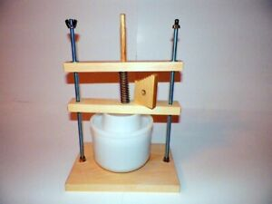 Calibrated Cheese press NO SHIPPING UNTIL MARCH 1st C $69.00