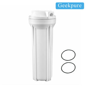 Geekpure 10 Universal Reverse Osmosis Filter Housing For RO System 1 4 Port $28.56