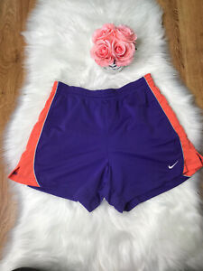 Womens Nike Dri Fit Shorts Size M Color Purple $5.99