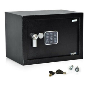 SereneLife SLSFE12 Fireproof Electronic Digital Combination Safe Box with Keys $42.99