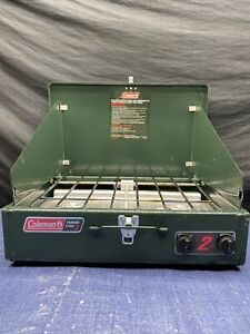 Coleman Gas Camping Stove Classic Propane Stove 2 Burner