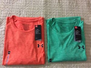 New Men's UNDER ARMOUR THE TECH TEE Loose Fit Poly Shirts $10.00