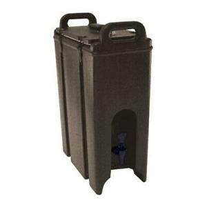 Cambro 500LCD131 4 3 4 gal Brown Camtainer® Hot Cold Beverage Carrier $116.00