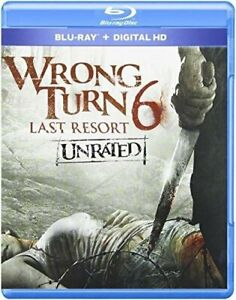 Wrong Turn 6 Unrated Blu ray digital New Free Shipping $12.98