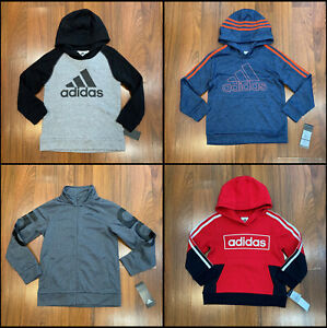 adidas Youth Boys Hoodie Shirt Multi Color Size 4 6 7 New $16.00