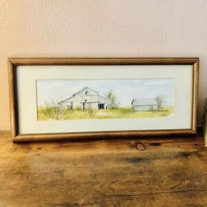 Vintage Original Watercolor Painting By A. Hupke $28.00