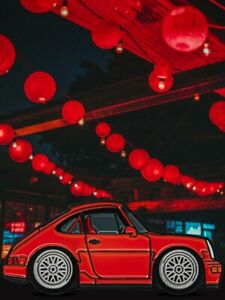 Leen Customs x Cooled Collective x CF Guards Red 964 Pin