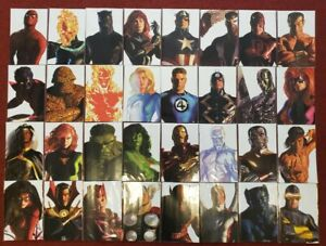 Lot of 32 Marvel Comics 2020 Alex Ross Timeless Variant Cover Complete Set of 32 $184.49