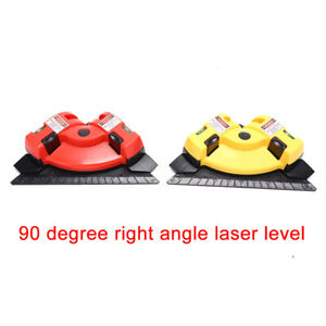 90 degree right angle laser level with suction cup infrared level $11.77
