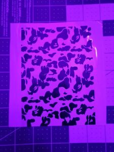 Bape Bathing Vinyl Stencil Custom For Shoes ShirtsCase Video Games And More.