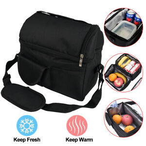 8L Insulated Lunch Bag Box Tote Men Women Travel Hot Cold Food Cooler Thermal $11.79
