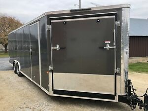 Custom TA 8.6x24 Enclosed trailer