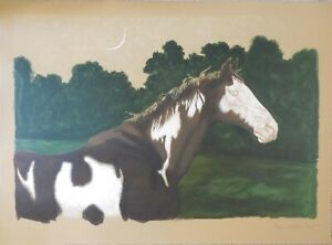 Jamie Wyeth quot;Moon and Horsequot; Lithograph Hand Signed amp; Numbered Fantastic $1750.00