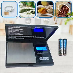1000g Precision Digital Scales Jewelry 0.1 Weight Electronic Scale Pocket conven $8.99