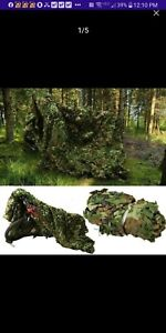 Large Military Netting Camo Tent Surplus Style Hunting Rifle Dear Camouflage Net