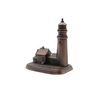 Metal Lighthouse Pencil Sharpener Novelty Desk Accessory Die Cast Collectible $6.98