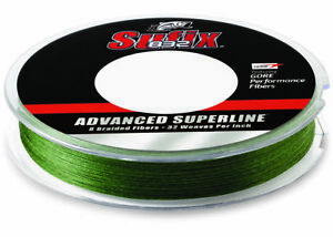 Sufix 300 Yard 832 Advanced Superline Braid Fishing Line Low Vis Green