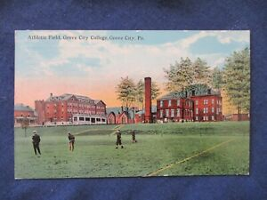 1916 Grove City Pennsylvania College Athletic Field Postcard amp; Cancel $4.99