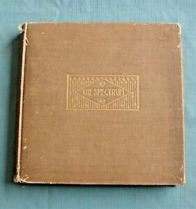 1899 GETTYSBURG COLLEGE YEARBOOK Spectrum *Civll War History of Alumni of School $69.99
