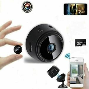 Mini camara espia seguridad oculta wifi HD 1080P Recharge Detector movimiento $22.99