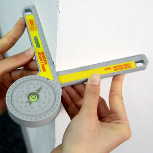 Engineering Pro Miter Saw Protractor Angle Finder Rule Degree Measurement Ruler^ $15.99