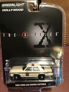 Greenlight Hollywood 1983 Ford LTD Crown Victoria The X Files. PREORDER