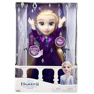 Disney Frozen 2 Elsa Musical Doll Sings 14 phrases Feature Toys Brand NEW $32.99