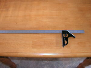 "Starrett 24"" Combination Square C33H 24 4R No. 4R Grads made in USA $125.00"