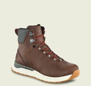 Red Wing Worx 5422 Worx Men#x27;s Lithium Mens 6quot; Steel Toe Brown Leather NEW