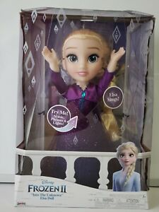 Disney Frozen 2 Elsa Musical Doll Sings 14 phrases Feature Toys Brand NEW $24.99