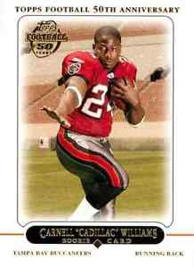 Topps Football Anniversary Carnell Cadillac Williams 2005 #438 RC C $0.99