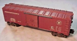 LIONEL TRAIN #3484 POSTWAR PENNSYLVANIA RAILROAD OPERATING BOXCAR 1953 VG $38.97