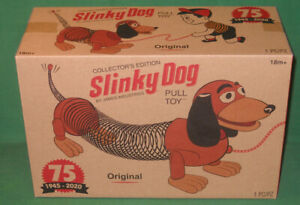 75th Anniversary quot;Originalquot; Slinky Dog Pull Toy Brand New MIB Unopened Sealed $22.50
