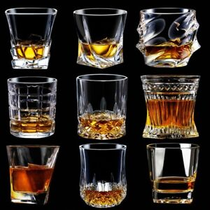 Whiskey Glass Set Glasses Crystal Scotch Fashioned Old Bourbon Whisky Gift