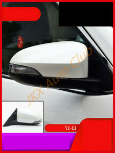 9 Wrie Right White Auto Folding Heated signal Mirror e For Toyota Camry 2012 17 $110.00