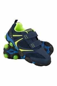 Mountain Warehouse Light Up Junior Kids Shoes Boys Girls Flashing Trainers $24.99