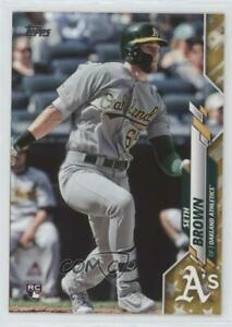 2020 Topps Gold Star Seth Brown #123 Rookie $7.44