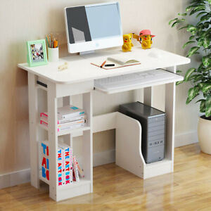 Small Computer Study Student Desk Laptop Table with Drawer Home Office Furniture $48.99