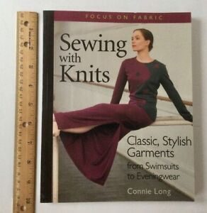 book Sewing with Knits jersey sweater knits swimsuit style stretch create $19.00