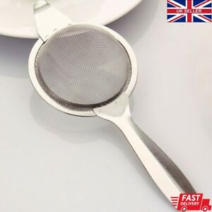 Tea Strainer Mesh Infuser Loose Leaf Kitchen Traditional Stainless Steel Sieve