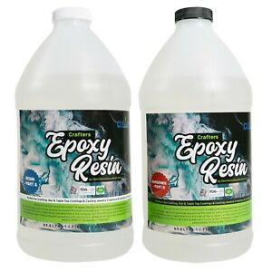Crafters Clear Epoxy Resin for Small Castings Art and Coatings 1 Gallon Kit $49.95