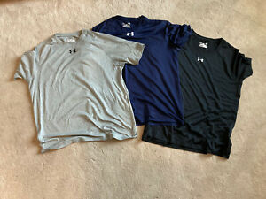 Under Armour Mens Shirts Size Large Lot Of 3 $29.99
