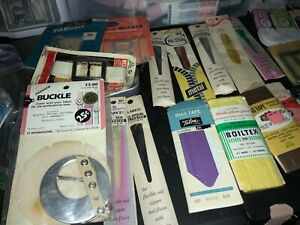 MIXED LOT OF ASSORTED VINTAGE SEWING SUPPLIES From Estate $20.00
