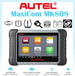 Autel MK808 Automotive OBD2 Diagnostic Scan Tool ABS SRS Car Full Scanner AU $799.00