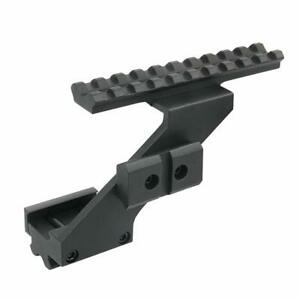 Tactical 100mm Length 20mm Top Weaver Rail Single Side Hunting Scope Sight Mount
